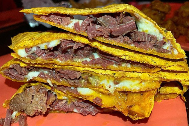 Corned Beef Quesadillas Platter